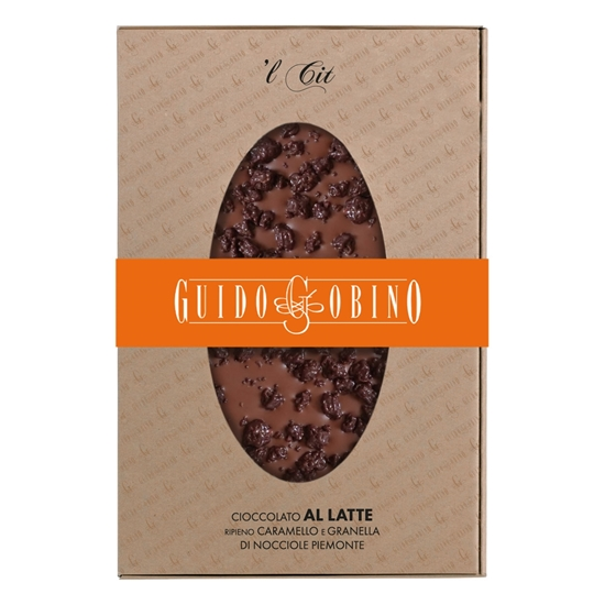 Picture of L CIT MILK CHOCOLATE WITH CARAMEL FILLING BAR g150